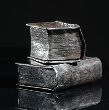 Thierry Chollat sculpture Intruments de musique - Contact