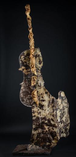 La sylve fervente - Thierry Chollat, sculpteur, Isère, France.