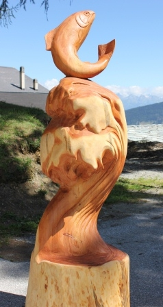 Sculpture Thierry Chollat sculpteur Isère France