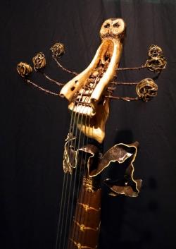 Viole de gambe (basse de viole à six cordes) ©Thierry Chollat