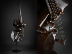Violoncelle, fer Interprétations d'instruments de Musique ©Thierry Chollat