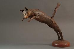 Chat Fer et bois ©Thierry Chollat