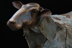 Mouton Fer et bois ©Thierry Chollat