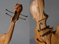 Violon en bois Interprétations d'instruments de Musique ©Thierry Chollat